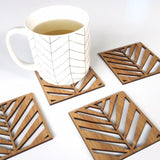 Palm Leaf Coasters