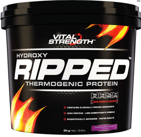VITAL STRENGTH HYDROXY RIPPED 3KG CHOCOLATE - Natural Food Barn