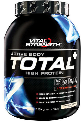 VITAL STRENGTH TOTAL PROTEIN STRAWBERRY 1.5KG
