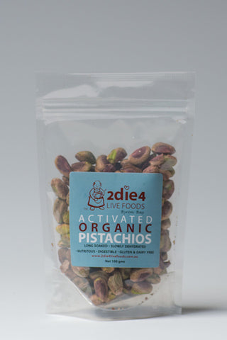 2DIE4 ACTIVATED PISTACHIO 100GM - Natural Food Barn