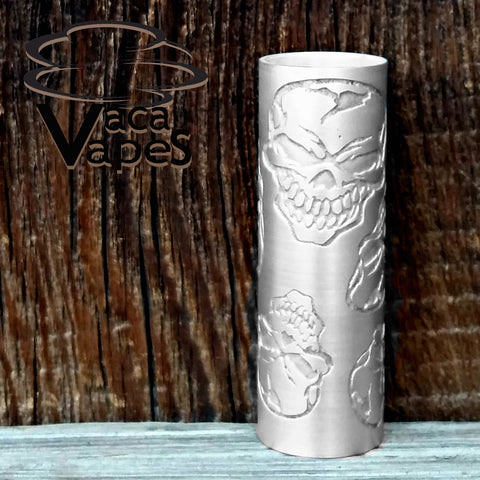 Custom Etched Aluminum Limitless Mod Sleeve. One of a Kind. Sleeve ONLY #0001