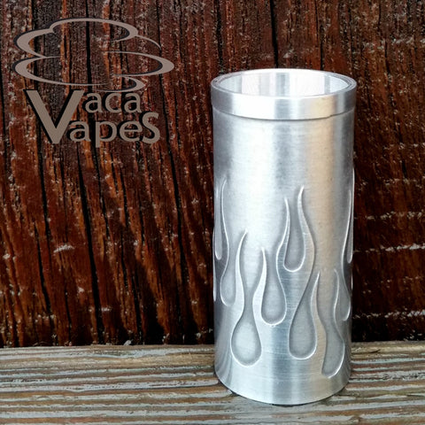 Custom Etched Aluminum Able Mod Sleeve. One of a Kind. Sleeve ONLY #0001