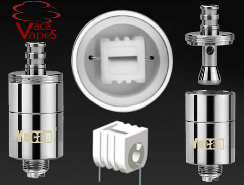 Authentic Yocan Magneto Coil 5 pack Includes Caps Also Fits Evolve Plus