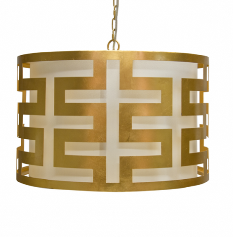 Worlds Away Gold Hicks Chandelier