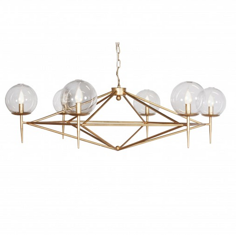 Worlds Away Rowan Chandelier