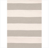 Catamaran Stripe Ivory Indoor/Outdoor Rug