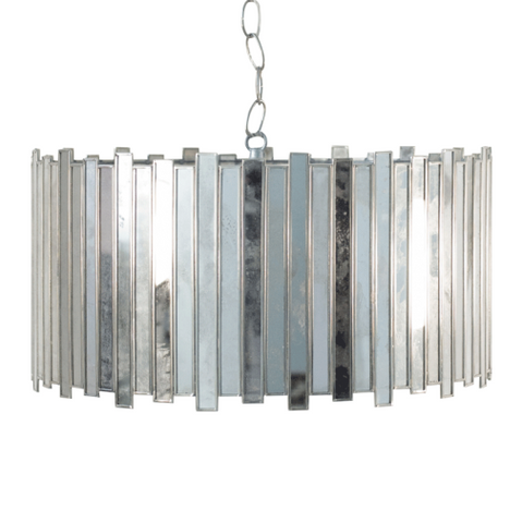 Worlds Away Connie Mirrored Chandelier