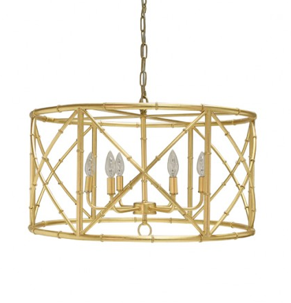 Worlds Away Zia Chandelier