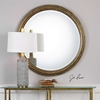 Uttermost Spera Round Gold Mirror