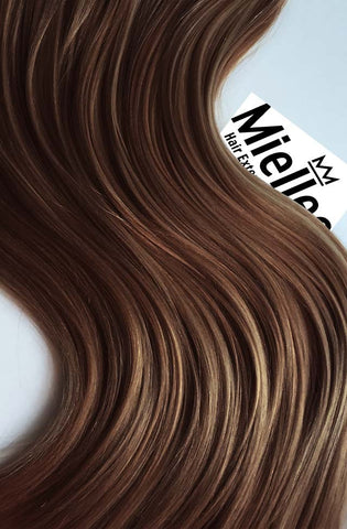 Maple Brown Full Head Clip Ins | Silky Straight Remy Human Hair