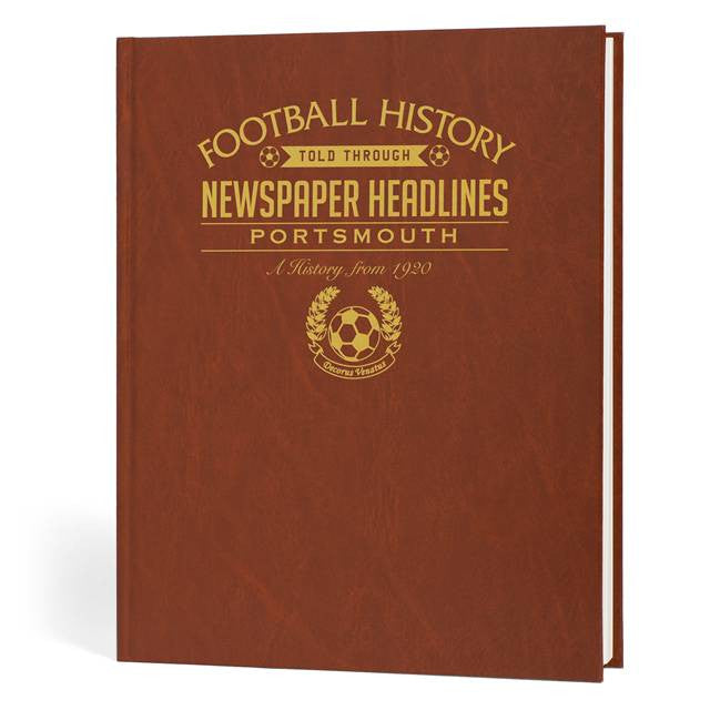 Personalised Portsmouth Football Newspaper Book - Personalised Gift Solutions - 1