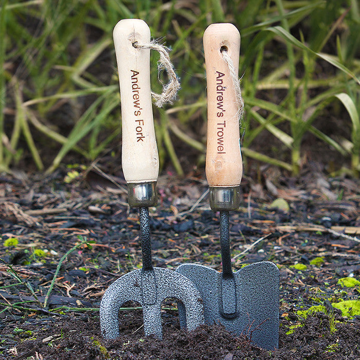Personalised Fork & Trowel Set - Personalised Gift Solutions - 1