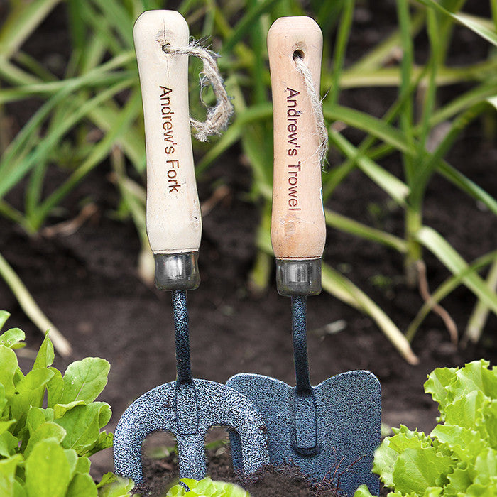 Personalised Fork & Trowel Set - Personalised Gift Solutions - 2