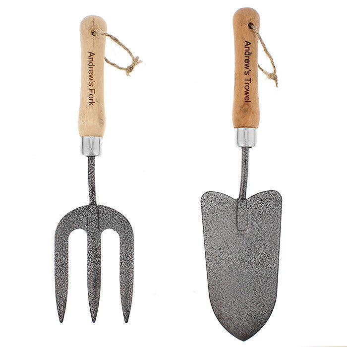 Personalised Fork & Trowel Set - Personalised Gift Solutions - 3