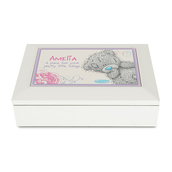 Personalised 'Me To You' Girls Jewellery Box - Personalised Gift Solutions - 1