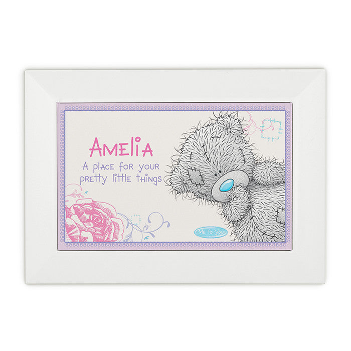 Personalised 'Me To You' Girls Jewellery Box - Personalised Gift Solutions - 3