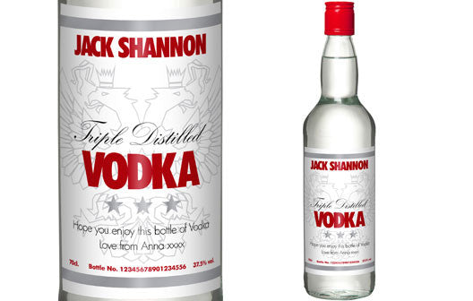 Personalised Vodka - Personalised Gift Solutions - 1