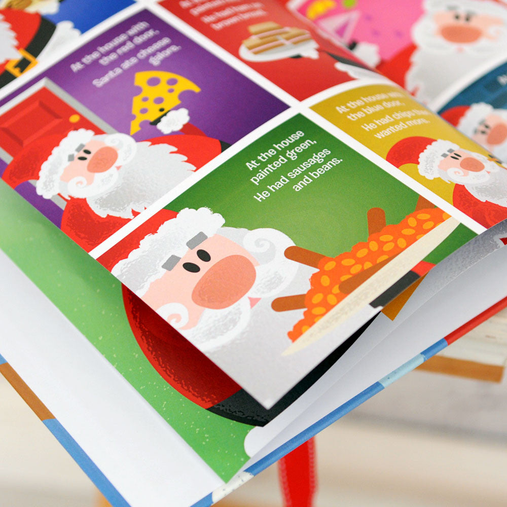 Personalised When Santa Got Stuck Up The Chimney Book - Personalised Gift Solutions - 3