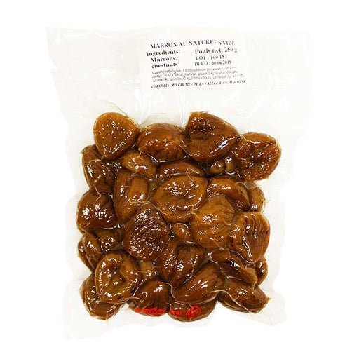 Corsiglia Premium Vacuum Sealed Whole Chestnuts, 250g