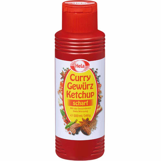 Hela Spicy Curry Ketchup, 10 oz (300 ml)