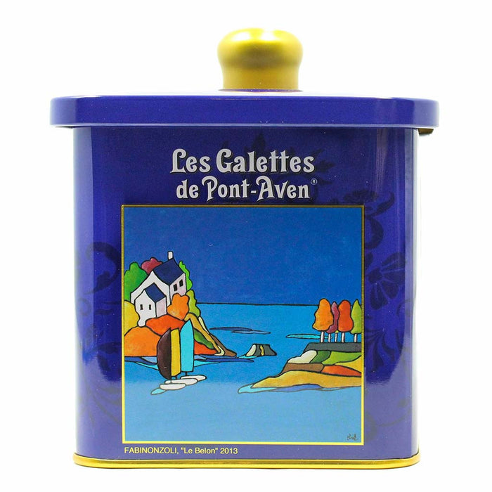 French Galettes Cookies by Traou Mad in Tin 7 oz
