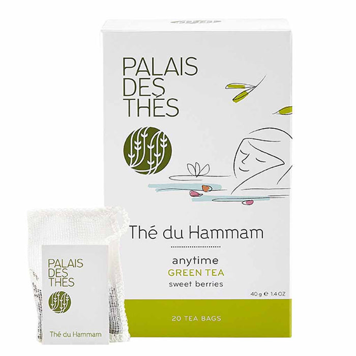 Palais des Thes - The du Hammam Green Tea, 20 Tea Bags