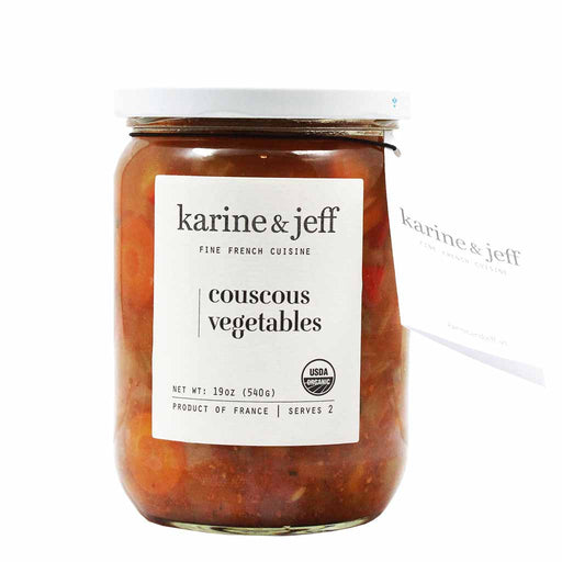 Karine & Jeff Organic French Couscous Vegetables 19 oz