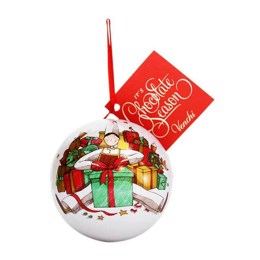 Venchi Chocolate-Filled Holiday Ornament, 1.69 oz (48 g)