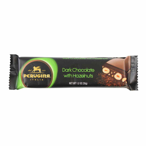 Perugina Snack Size Dark Chocolate with Hazelnuts Bar 1.2 oz. (35g)