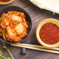Kimchi uses an essential ingredient - Red Pepper Chili flakes!