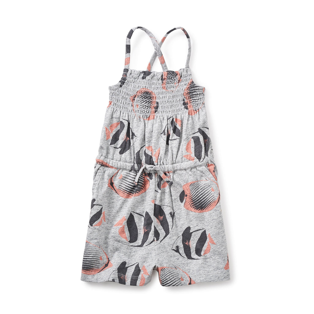 Tea Collection Esperance Smocked Girl Romper - 30% OFF & Free Shipping!