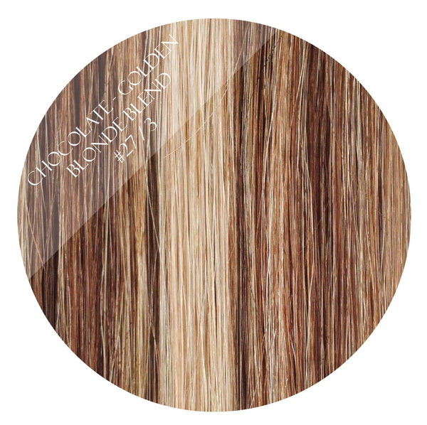 bronze bliss #27/3 fusion hair extensions 26inch 200pcs - two full heads