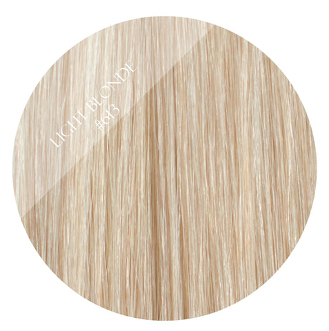 malibu blonde #613 halo hair extensions 26inch deluxe