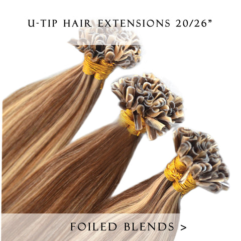 bronze bliss #27/3 fusion hair extensions 20inch 200pcs - two full heads