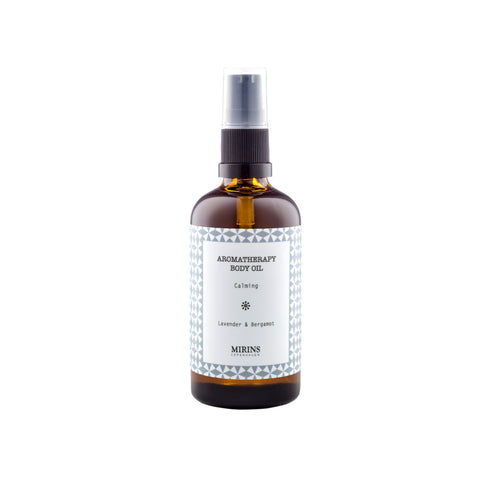 Body Oil - Calming - Lavender & Bergamot