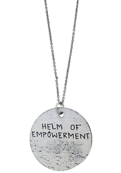 """Helm Of Empowerment"" Rune Necklace"