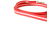 IDC Lumino Leash 1.2 Meters / 4 Ft with Handle - Glow in the Dark - Red - JULIUSK9® CANADA