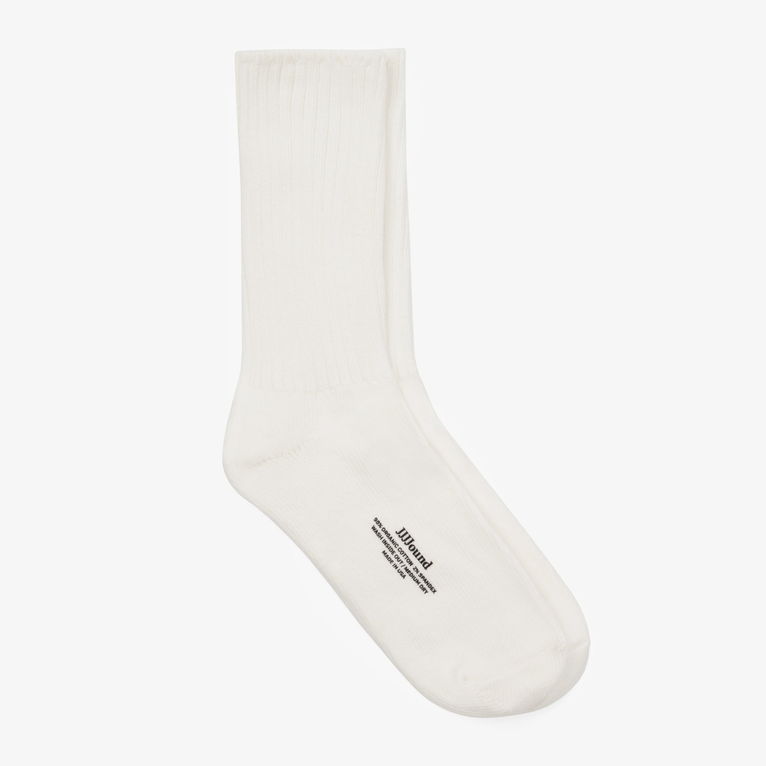 Organic Socks / White