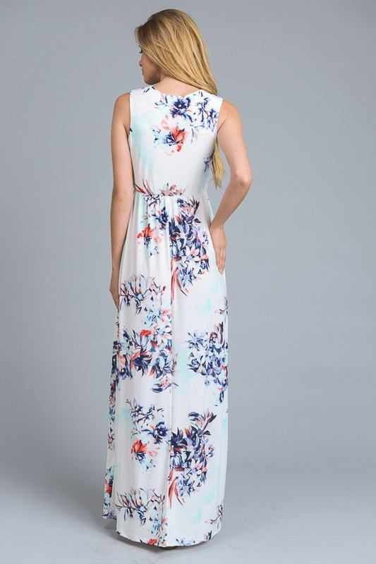 Wildcat Floral Maxi Dress - The Laguna Room