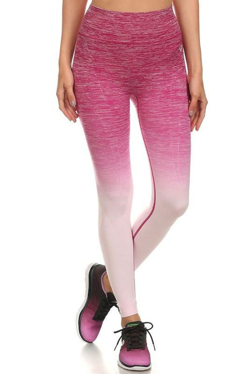 Know Yourself Ombre Leggings - The Laguna Room
