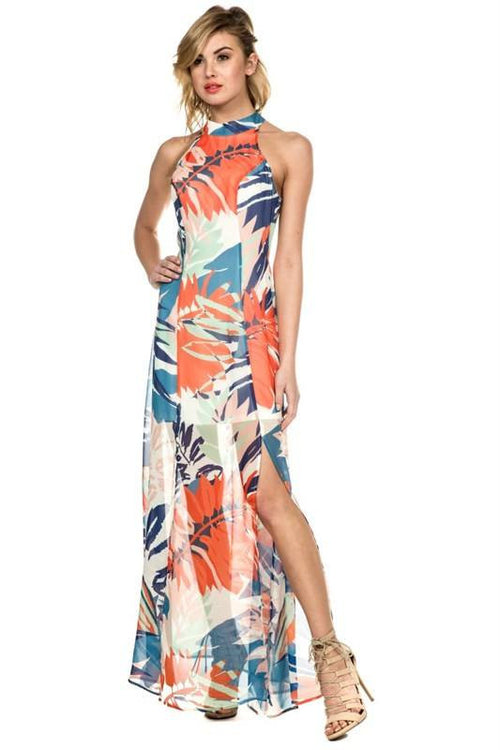 Better Than Most Tropical Maxi Dress - The Laguna Room