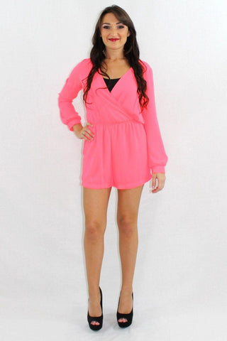 Heads Will Roll Off the Shoulder Romper