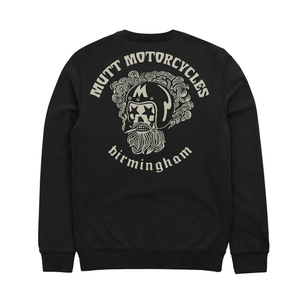Mutt Hellmet Crew Sweat Black