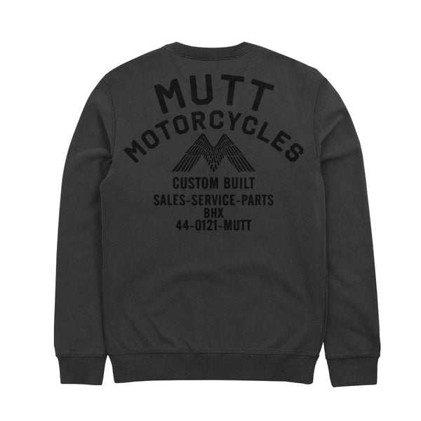 Mutt Shop Crew Sweat Grey