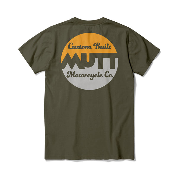 Mutt Custom Build T-Shirt Khaki