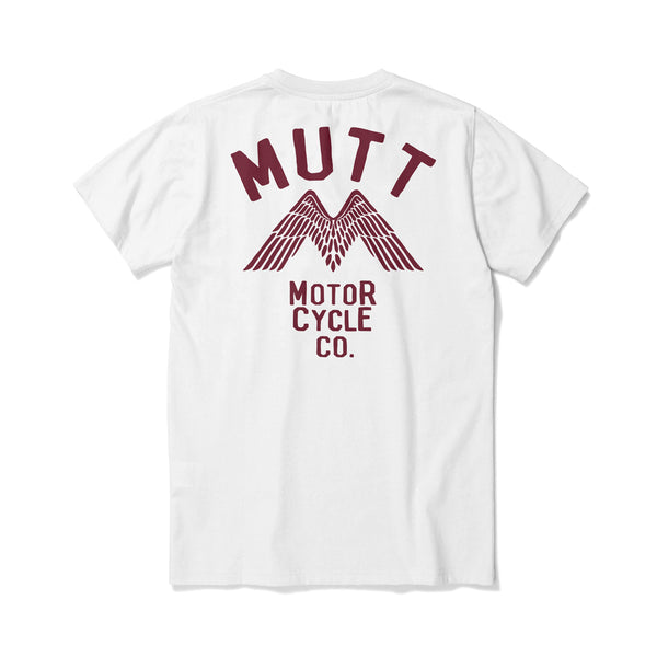 New Mutt Wings T-Shirt White