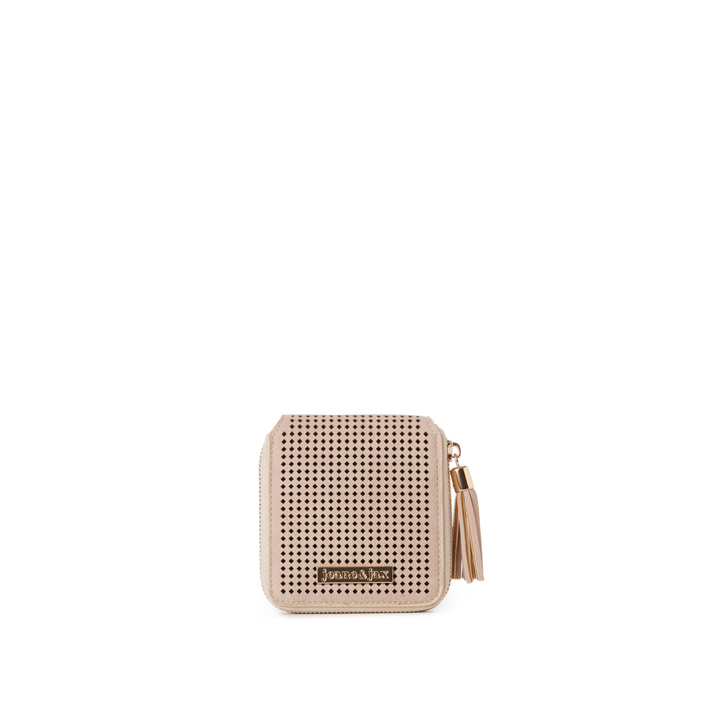 NORA Perforated Mini Wallet