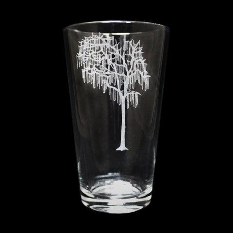 Bead Tree Pint Glass