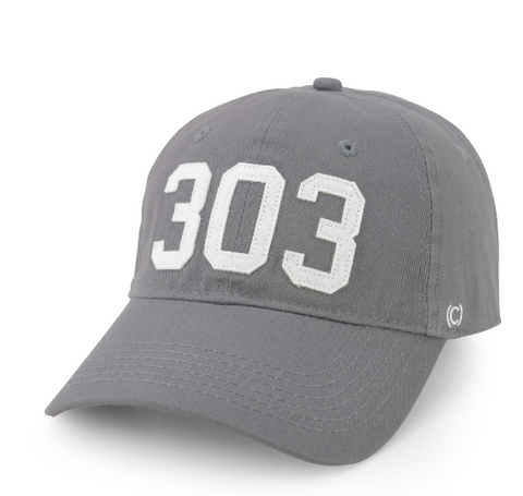 (Code) Word Mile High | Grey Cap 303 | Hats | $35