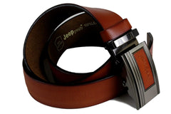 Jeep Pvoir Dress Belt - BBP007JP03-BROWN